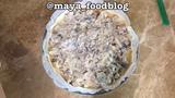 Блюда для перекуса Пирог с курицей, грибами и луком