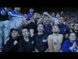 Фанаты на матче Днепр - Наполи (1:0)