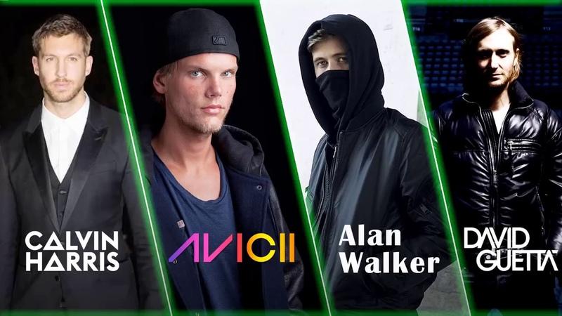Alan Walker, Avicii, David Guetta, Calvin Harris Best Songs - Best Remix 2018