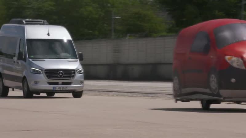 Мерседес Бенц Спринтер фургон безопасности