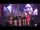 180720 CLC 씨엘씨 - CLC LIVE SHOW IN HONG KONG 2018 – BLACK DRESS 직캠/CAM [4K]
