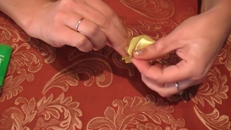Как сделать Лепесток Канзаши из Ленты 5 см _ How to Make Kanzashi Petals Flowers