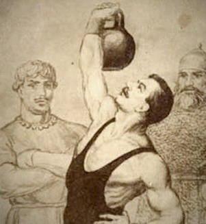 Гиря считается исконно русским изобретением.