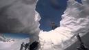 24 05 2015 Chute en crevasse a ski et secours sur le glacier du Strahlhorn
