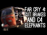 Far Cry 4: You Can Cut Brakes on Vehicles, Stick C4 to Elephants - Gameplay Details