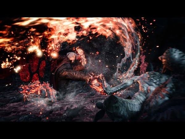 《Devil May Cry 5》Dante Gameplay