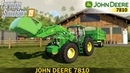 Farming Simulator 19 JOHN DEERE 7810 Loading Silage for Cows