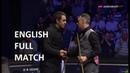 Ronnie O'Sullivan vs Mark Davis - (full match) English Open Snooker 2018 (S/F)