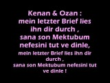 Kc Rebell ft. Kenan & Ozan - Letzter Brief + Lyrics :)