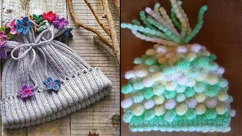 KIZ ÇOÇUKLARI İÇİN BERE MODELLERİ 03 - Bebek Kız Şapka Modelleri
