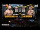 UFC ON FOX 25 Chase Sherman vs Damian Grabowski