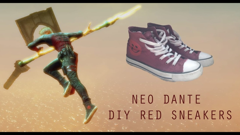 Neo Dante Shoes (DmC: Devil may Cry)