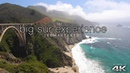 4K The BIG SUR EXPERIENCE 4HR Real-Time Nature Relaxation™ Ambient Film Remastered California