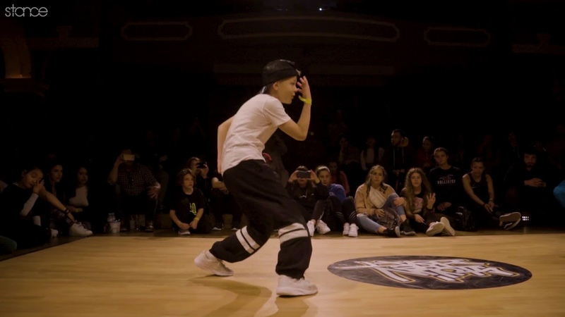 10 year old Bboy Gustas at Stylin The Beat Vol. 4 .stance