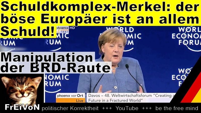Schuldkomplex Merkel der böse Europäer ist an allem Schuld * HD