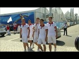 В Казани проходит грандиозный спортивный праздник – открытие Универсиады - Первый канал