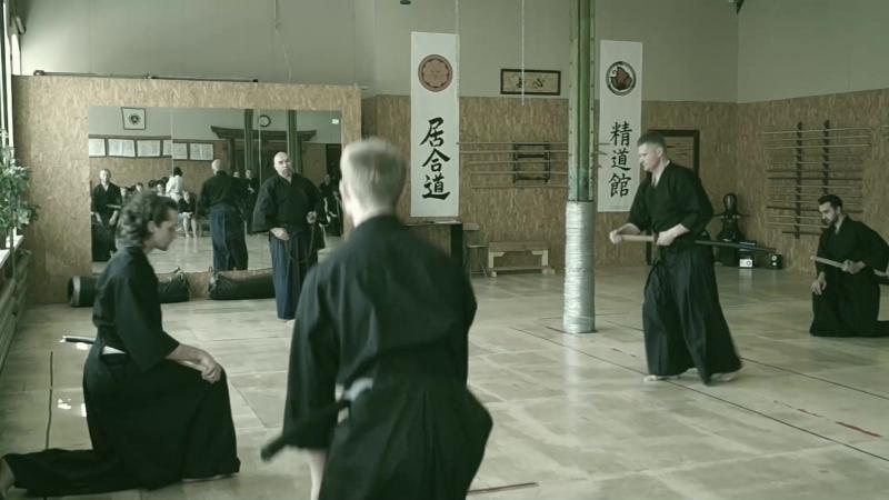 IV Открытая Всестилевая Конференция по Иайдо Синтэнкан региональное Хомбу додзё Niden Ryu Iaijutsu Kenjutsu Tachiiaimokurok смотреть онлайн без регистрации