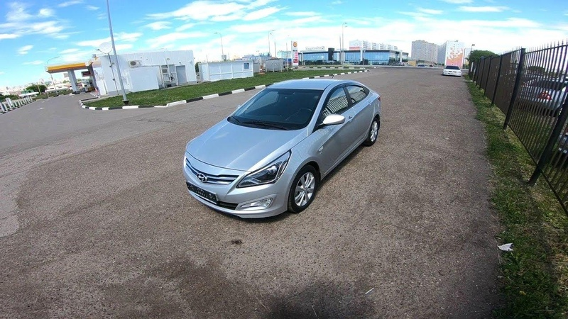 2016 Hyundai Solaris Super Series 1.6 AT POV Test Drive