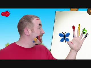 Animal Finger Family from Steve and Maggie _ Magic Speaking Learning Wow English