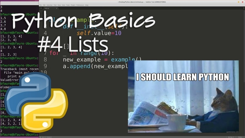 Python Data Structures 4: List Object
