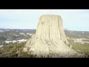 DEVILS TOWER WYOMING 4K  ULTRA HD  2017