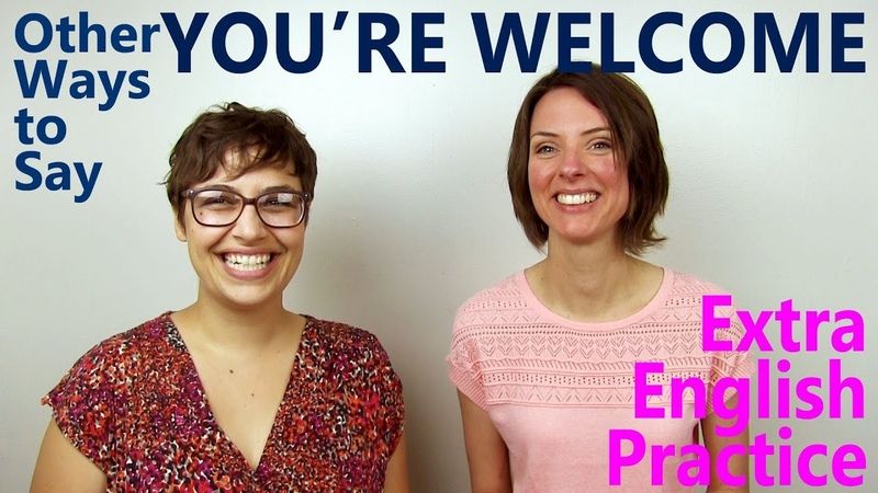 How to Respond to Thank you -- English Conversation