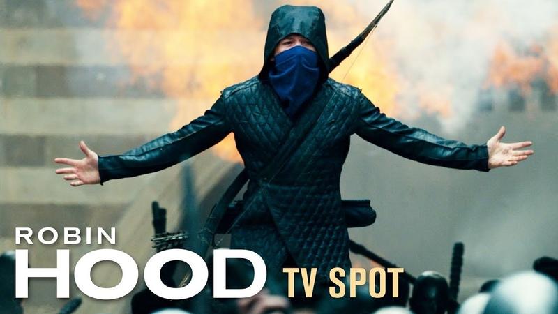 "Robin Hood (2018) TV Spot ""Justice"" – Taron Egerton, Jamie Foxx, Jamie Dornan Ben Mendelsohn"