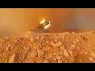 التغطية_مستمرة - ريف أدلب - فيديو لرمايات صاروخية مكثفة تستهدف مواقع المجموعات الإرهابية ف
