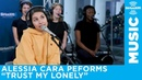 Alessia Cara performs Trust my Lonely live at SiriusXM
