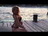 Anastasia Sokolova Poledancer! Pole dance on the beach