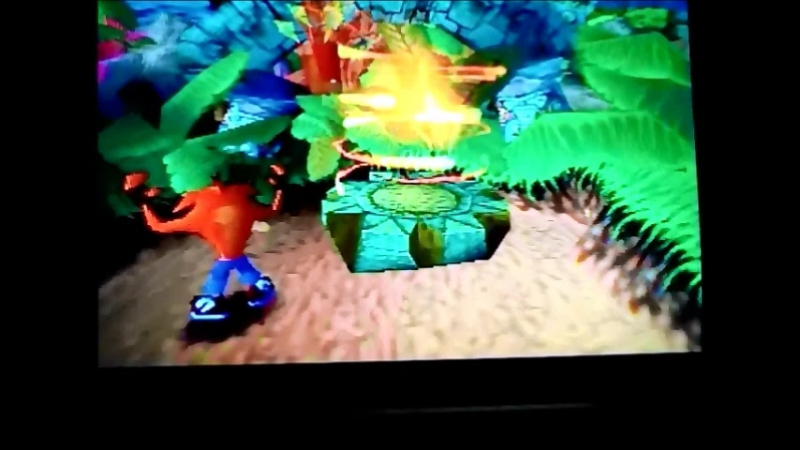 Crash Bandicoot 1(NTSC-U).УровеньN.Sanity Beat.Гем.