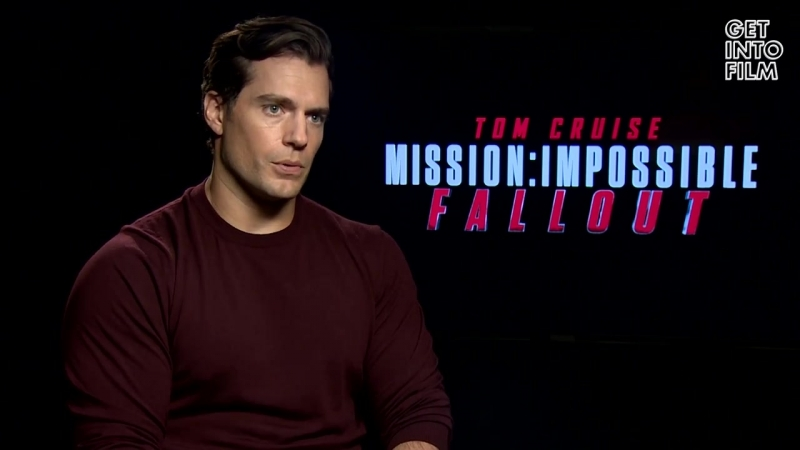 Henry Cavill Hugging Tom Cruise. Mission_ Impossible Fallout Interview