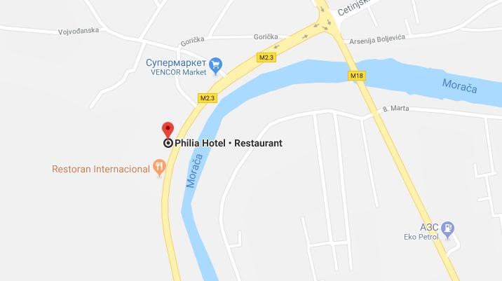 Hotel Philia in Montenegro
