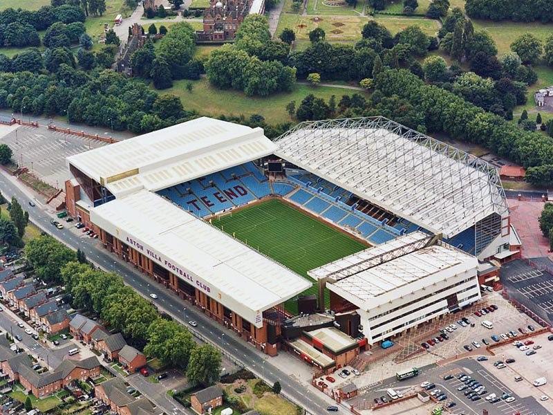 Стадион Вилла Парк (Villa Park). Бирмингем, Англия.