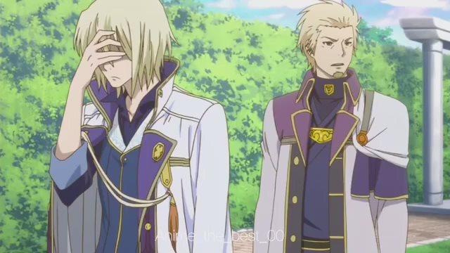 Момент из аниме Красноволосая принцесса Белоснежка (Akagami no Shirayuki-hime)