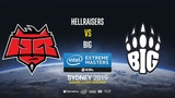 HellRaisers vs BIG - IEM Sydney 2019 Europe Closed QA - map2 - de_dust2 SSW