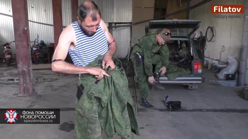 (ENG Sub) Бой в районе деревни Пески. Батальон Восток.21-06-2015