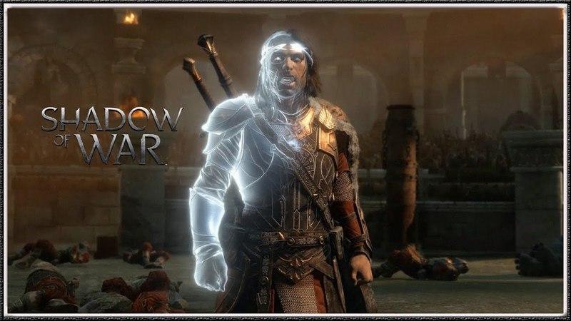 Shadow of War - Celebrimbor Arena Speech (HD) (1080p60)