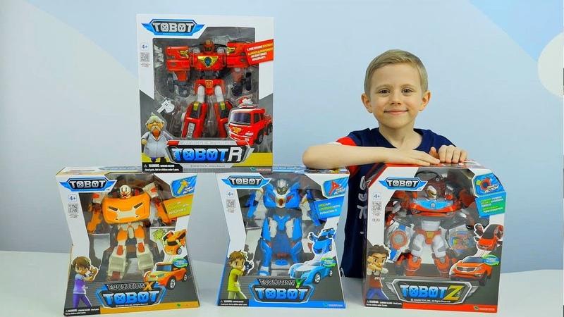 ТОБОТЫ Трансформеры. Игрушки для Мальчиков TOBOT Evolution