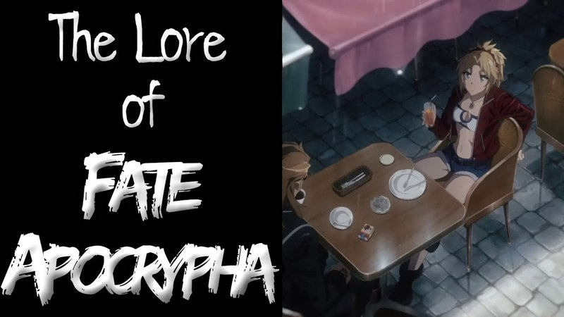 The Lore of FateApocrypha - Part 1 - The Universe
