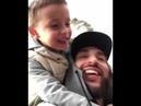 L'One с сыном Мишей