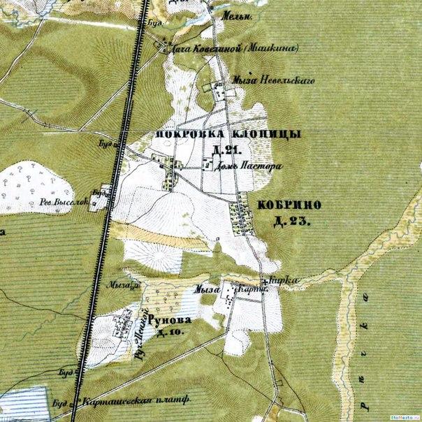Топографическая Карта Ленобласти