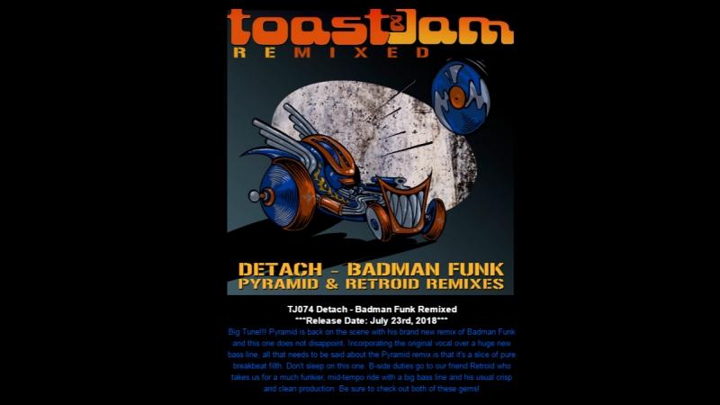 [TJ074] Detach - Badman Funk Remixes