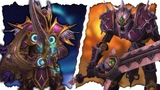NEW Battle For Darkshore Plate Sets &amp Weapons Night Elf &amp Forsaken Warfront Armor Sets