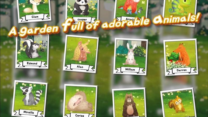 Fuzzy Seasons Animal Forest Геймплей Трейлер