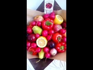 фруктово-овощной букет от Елены 8952 224 10 13