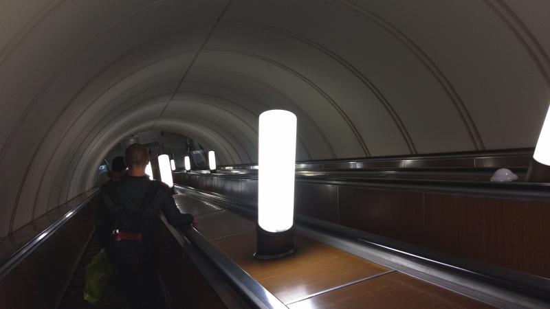 эскалатор м. Площадь Ильича