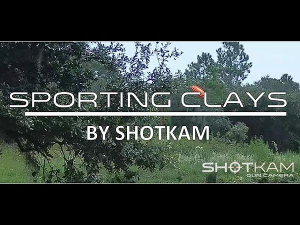 ShotKam Sporting Clays Video Shooting with a ShotKam Video Camera on Shotgun Barrel