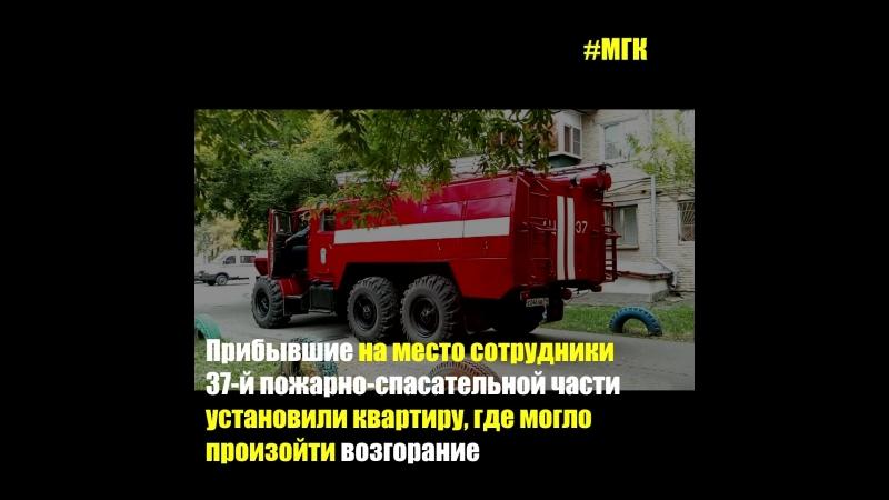Пожарные Коркино выехали по сигналу о задымлении