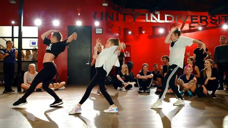 Taylor and Reese Hatala kelly Sweeney Nika Kljun choreography shape of you Ed Sheeran